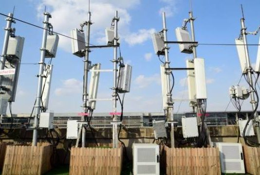 Huawei 5G base stations in China