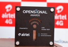 Opensignal Award to Airtel 4G