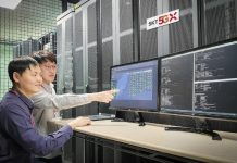 SK Telecom engineers at Standalone 5G network testing