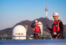 SK Telecom 5G engineers