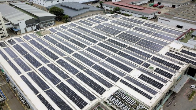 Singtel Bedok Data Centre solar installation