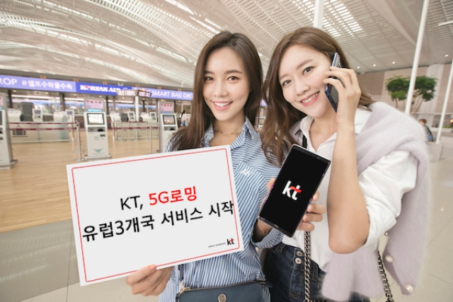 KT 5G services in Korea