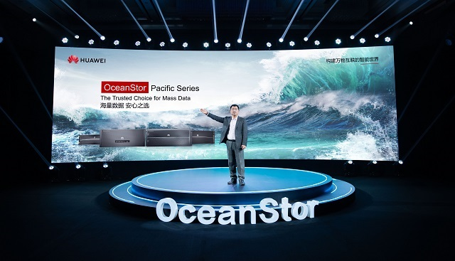 Peter Zhou, President of Huawei Data Storage