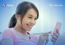 Globe Telecom smartphone customer