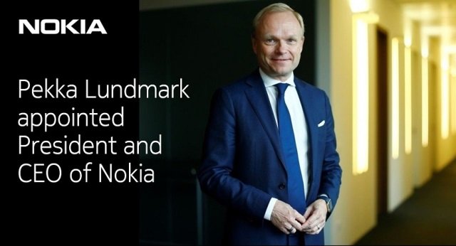 Nokia CEO Pekka Lundmark