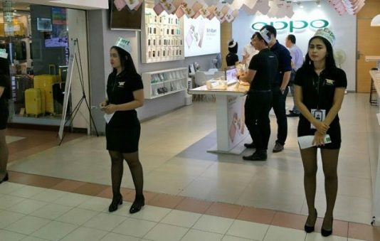 Oppo retail store network