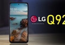 5G smartphone Q92 from LG