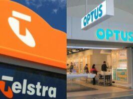 Optus and Telstra in Australia