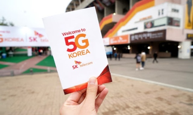 SK Telecom 5G in Korea