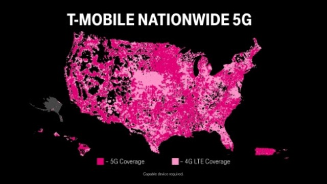 T-Mobile standalone 5G network