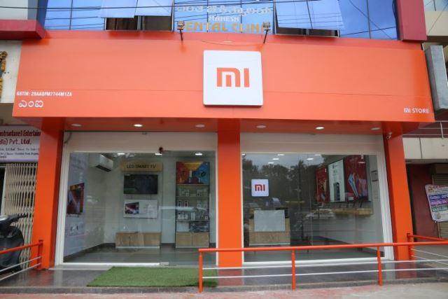 Xiaomi store in rural India