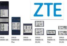 ZTE ZXR10 M6000-S router