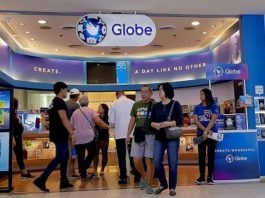 Globe Telecom 5G network