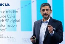 Sanjay Goel, president of Global Services, Nokia
