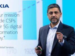 Sanjay Goel, president of Global Services, Nokia