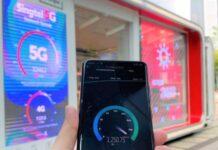Singtel 5G non-standalone network