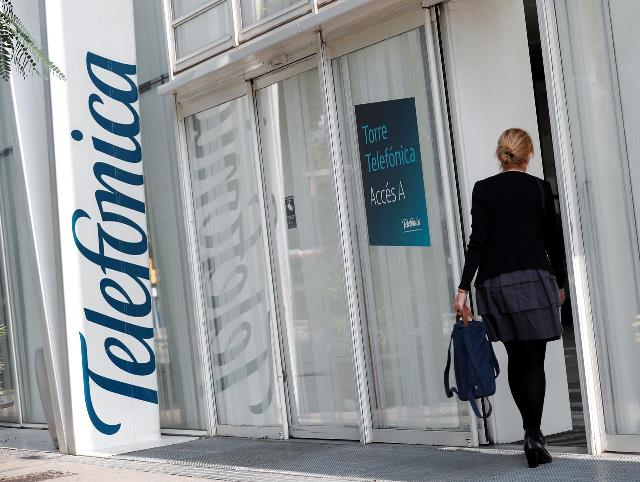 Telefonica's 5G network in Spain
