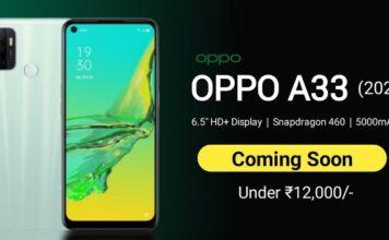 OPPO A33 smartphone India price