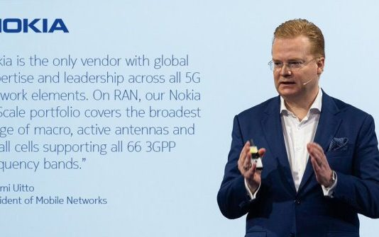 Tommi Uitto, president of Nokia Mobile Networks