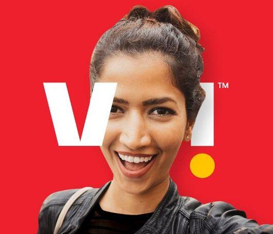 Vi mobile network in India
