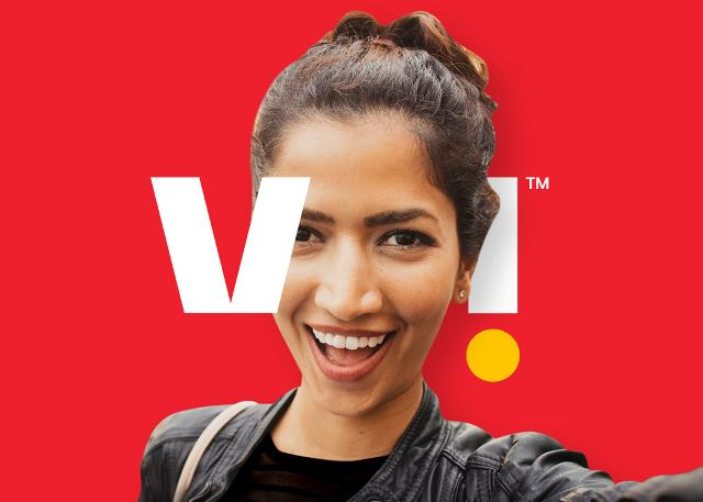 Vi mobile network in India