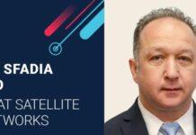Gilat Satellite Networks CEO Adi Sfadia