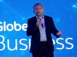 Globe Telecom chief technology and information officer Gil Genio