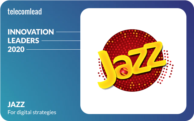 Jazz - TelecomLead Innovation Leaders Award 2020