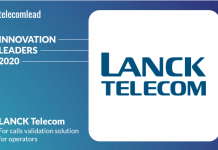LANCK Telecom - TelecomLead Innovation Leaders Award 2020