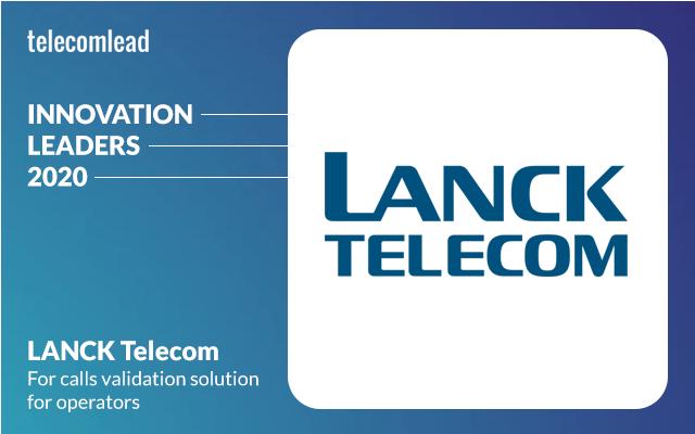 LANCK Telecom - TelecomLead Innovation Leaders Award 2020