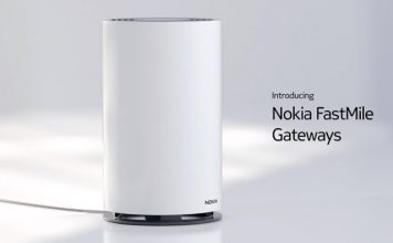 Nokia FastMile 5G Receivers