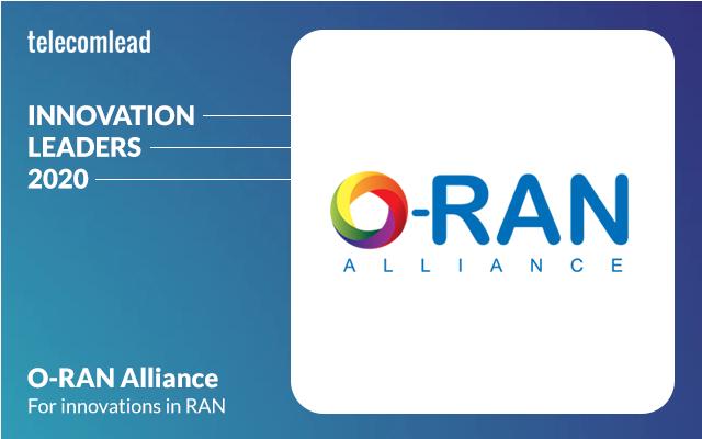 O-RAN Alliance - TelecomLead Innovation Leaders Award 2020