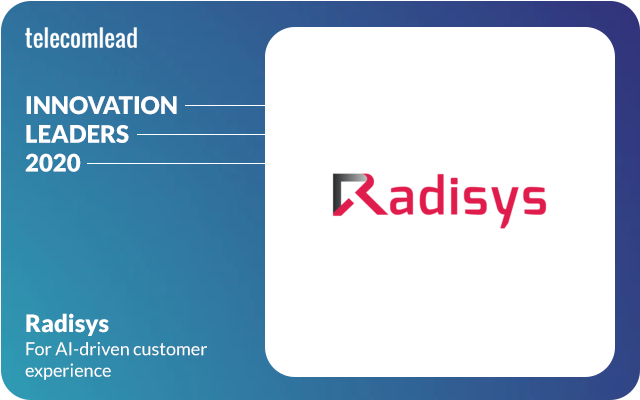 Radisys - TelecomLead Innovation Leaders Award 2020