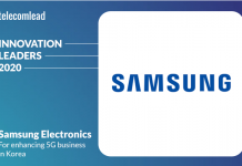 Samsung - TelecomLead Innovation Leaders Award 2020