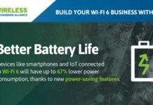 Wi-Fi 6 for broadband