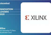 Xilinx - TelecomLead Innovation Leaders Award 2020