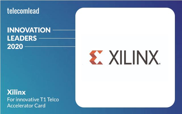 Xilinx - TelecomLead Innovation Leaders Award 2020