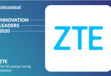 ZTE - TelecomLead Innovation Leaders Award 2020