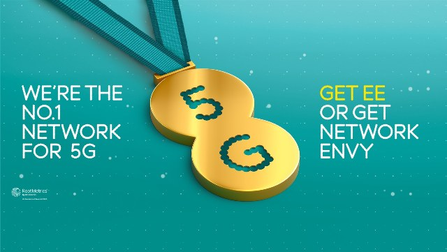 EE 4G and 5G network in UK
