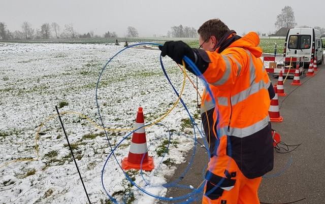 Swisscom optical fiber business