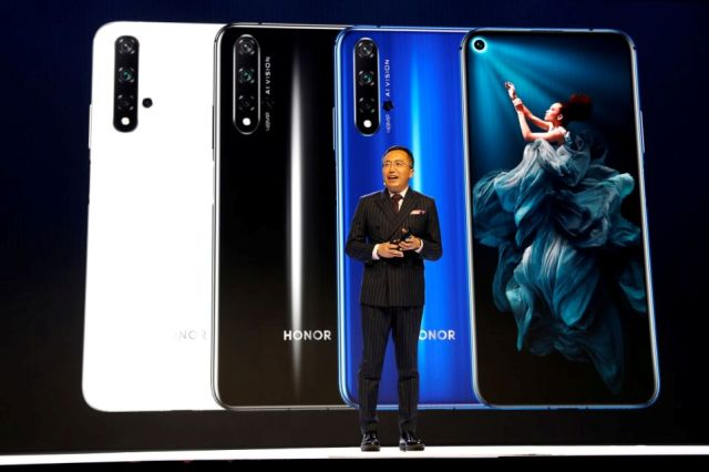 Honor CEO George Zhao