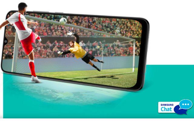 Samsung Galaxy M02 smartphone India