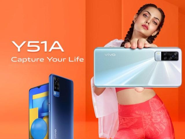 Vivo Y51A smartphone price India