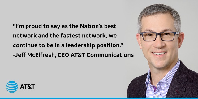 AT&T Communications CEO Jeff McElfresh