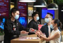 Singtel 5G SIM card shop
