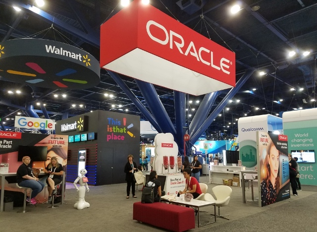 Oracle at an IT event