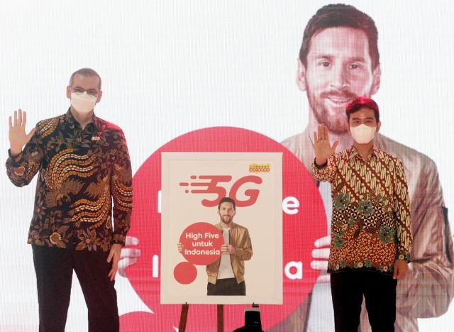 Indosat Ooredoo 5G mobile in Solo
