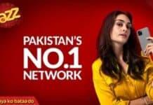 Jazz Internet network in Pakistan