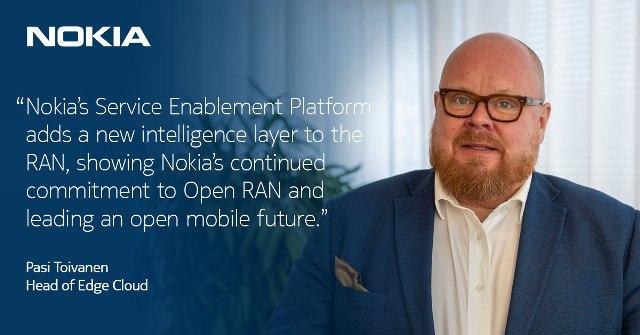 Pasi Toivanen, Head of Edge Cloud at Nokia