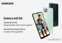 Galaxy A22 5G smartphone price in India